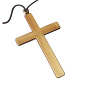 gold coloured cross