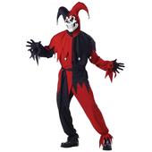 Evil Jester fancy dress costume