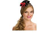 Black Mini Buccaneer Hat