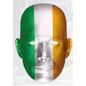 Ireland Flag Paper Mask