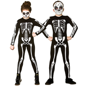 Skeleton Jumpsuit - Teen