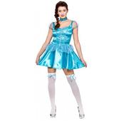 Ice Blue Princess - Short Dress