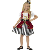 Deluxe Pirate Girl Costume - tween