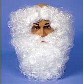 Deluxe White Beard And separate hair Headband