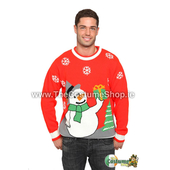Snowman Christmas Jumper