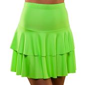 80's Neon Ra Ra Skirt - Green