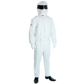 White Racing Driver Costume