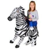 Inflatable Zebra Costume - Kids