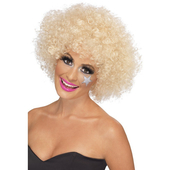 Funky Afro Wig - Blonde