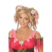 Fairy wig with clips