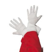 White santa Gloves