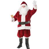 Imperial Plush Santa Suit