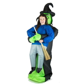 Inflatable Lift Me Up Witch Costume - Kids