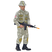 Kids Army Soldier Costume