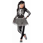 White Skeleton - Kids Costume