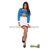 Ladies Rudolph Christmas Jumper