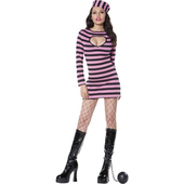 Fever pink convict costume