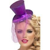 Purple Mini Top Hat