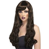 Long Brunette Wig