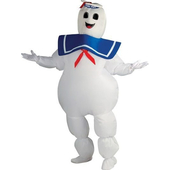 Inflatable Marshmallow Man - Ghostbuster Costume