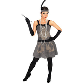 Plus size 1920s cocktail party costume