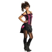 Teen Saloon Girl costume