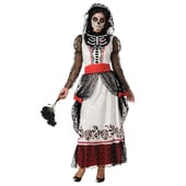 skeleton bride costume