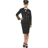 ladies navy officer costume