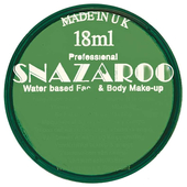 Dark Green Face Paint - 18ml