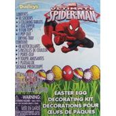 Spiderman Easter Egg Decorating