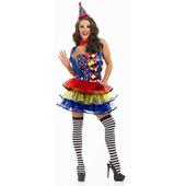 Cutie Clown Costume - Plus Size