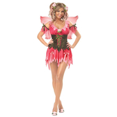 Ladies Rose Fairy Costume