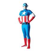 Captain America Body Suit Costume