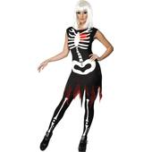 Bright Bones Glow-in-the-dark Costume