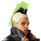 80's Green Mohawk Wig