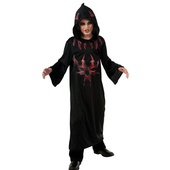 Black Devil Robe Costume