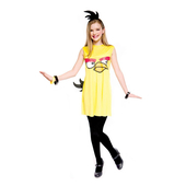Tween Yellow Angry Bird Fancy Dress