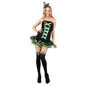 Bewitched Babe Costume - Green