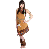 Indian squaw costume