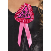 Hen Party Rosette - Pink