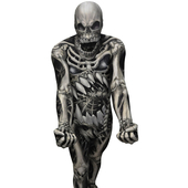 The Skull And Bones Morphsuit
