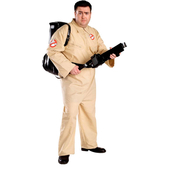 Plus size ghostbuster costume