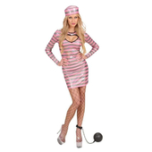 Pink Jail Bird Costume