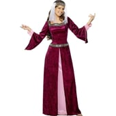 Medievel maid Marion costume