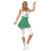 Go Green Cheerleader costume