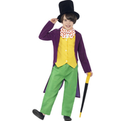 Willy Wonka Kids Costume