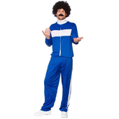 Retro Blue Tracksuit