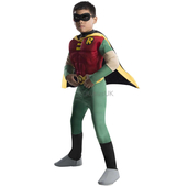 Deluxe Muscle Chest Robin Costume - Kids