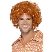 ginger afro wig