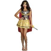 Golden Gladiator Costume